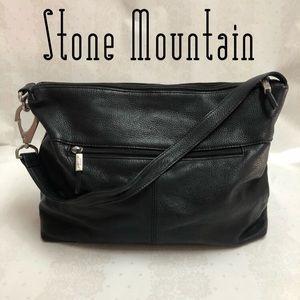 Stone Mountain Genuine Leather Handbag